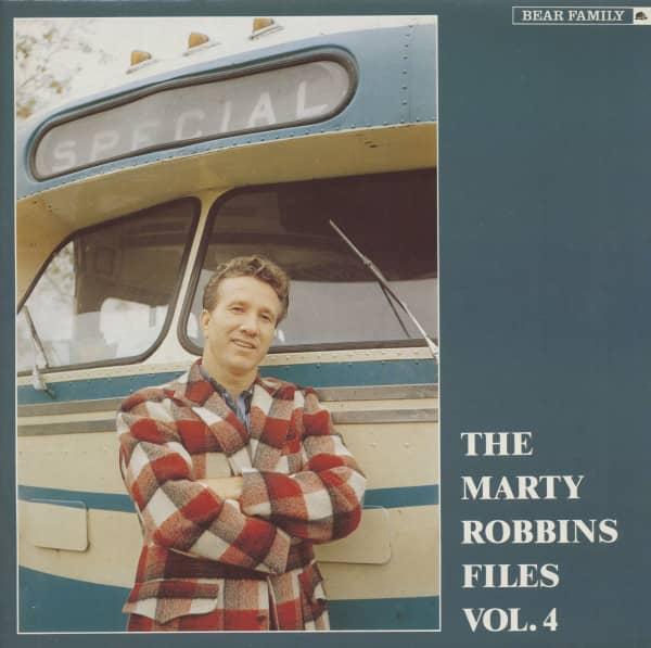 The Marty Robbins Files, Vol. 4 (Vinyl)