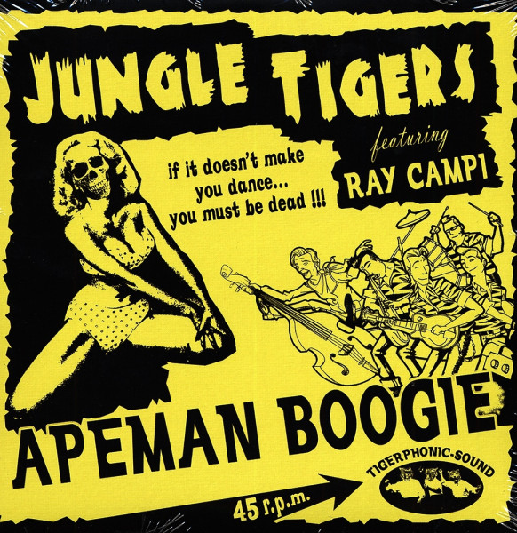 Apeman Boogie 7inch, 45rpm, PS EP