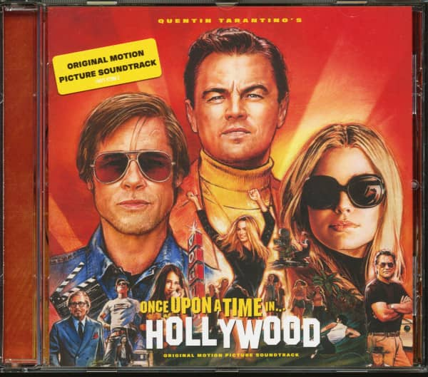 Quentin Tarantino's Once Upon A Time In Hollywood - Original Motion Picture Soundtrack (CD)