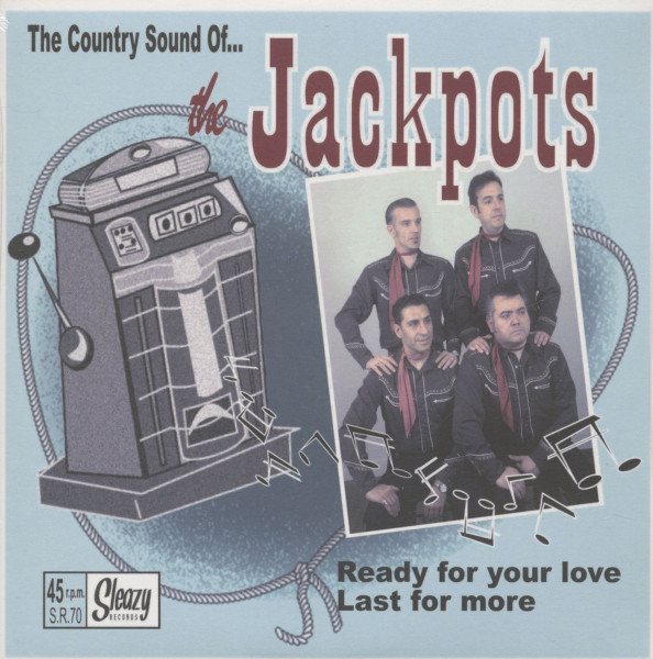 The Country Sound Of The Jackpots (7inch, 45rpm, PS)
