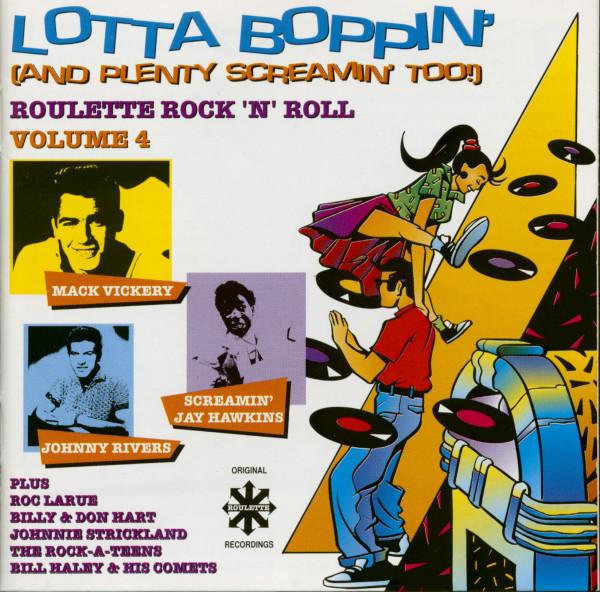 Lotta Boppin' (And Plenty Screamin' Too!) Roulette Rock'n'Roll Vol.4 (CD)