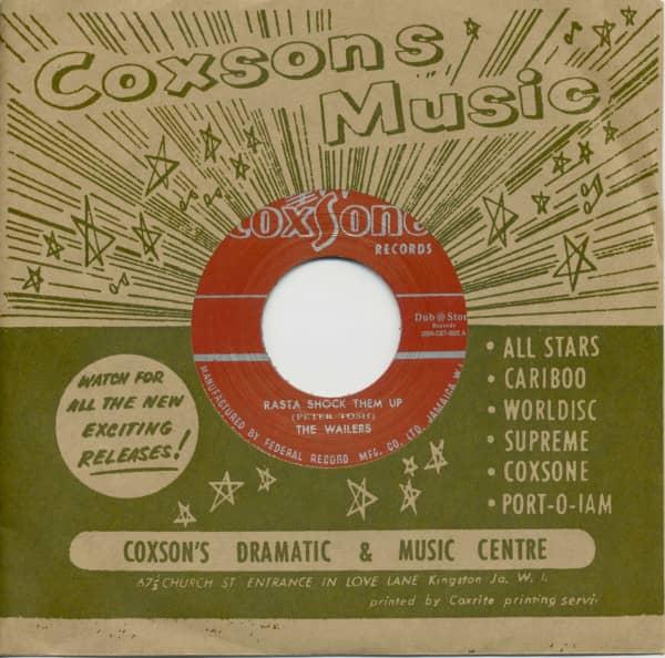Peter Tosh & The Wailers - Rasta Shock Them Up / Soul Bros. - Ringo's Ska (7inch, 45rpm, BC, CS)