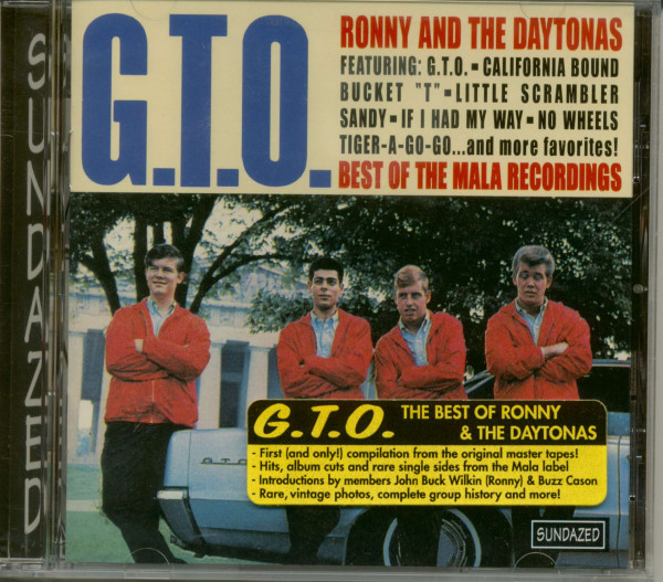 G.T.O. - The Best Of The Mala Recordings (CD)