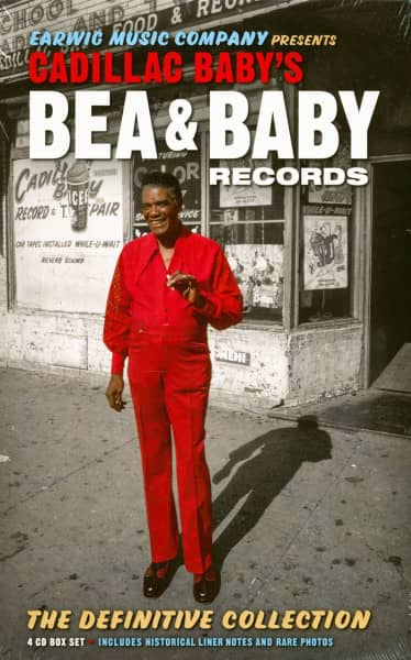 Cadillac Baby's Bea & Baby Records - Definitive Collection (4-CD+Buch)