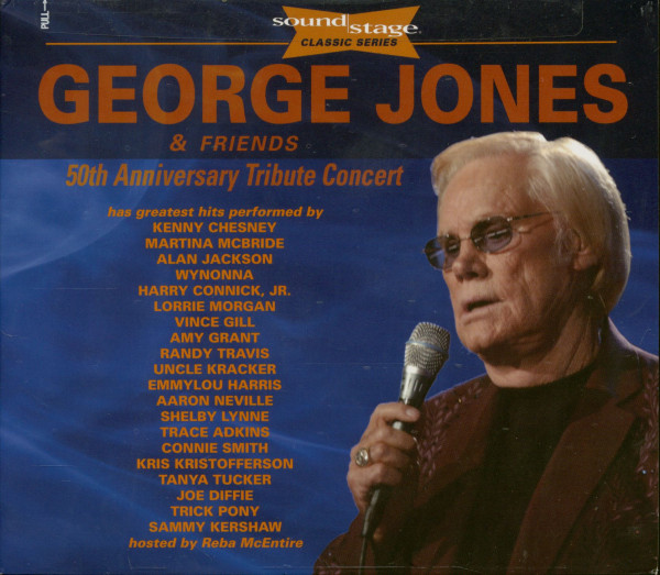 George Jones & Friends - 50th Anniversary Tribute Concert (CD+2-DVD)