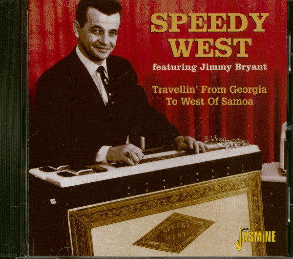 Travellin' From Georgia To West Of Samoa (CD)