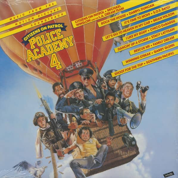 Police Academy 4 - Citizens On Patrol - Soundtrack (LP, Cut-Out)