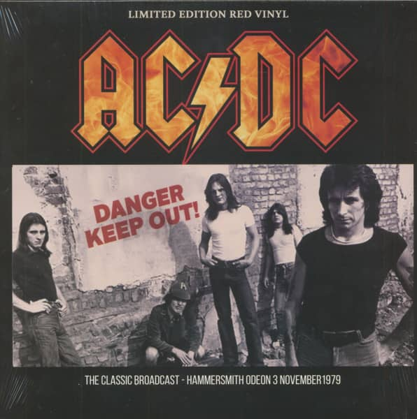 Danger Keep Out! (LP, Red Vinyl, Ltd.)
