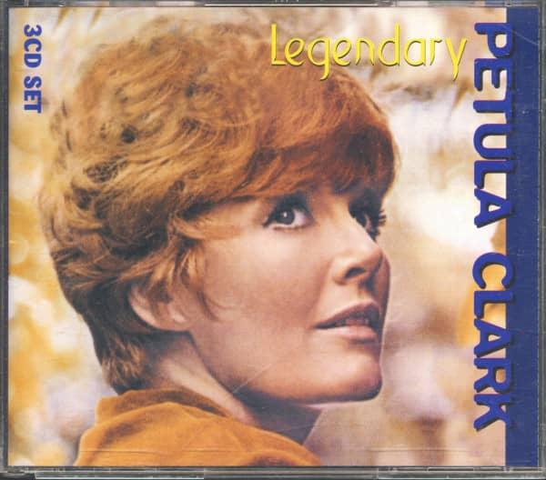 Legendary Petula Clark (3-CD)