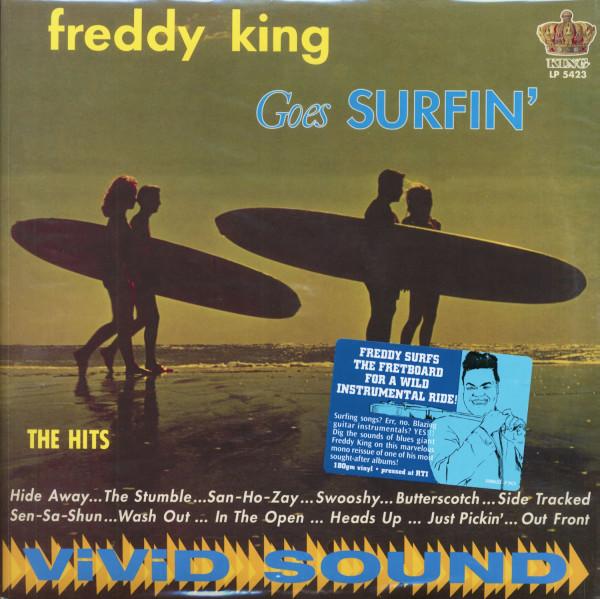 Freddy King Goes Surfin' (LP, 180g Vinyl)