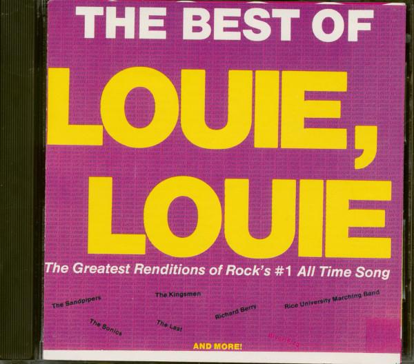 The Best Of Louie Louie (CD)