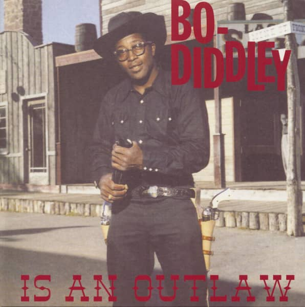 Bo Diddley Is An Outlaw (LP)