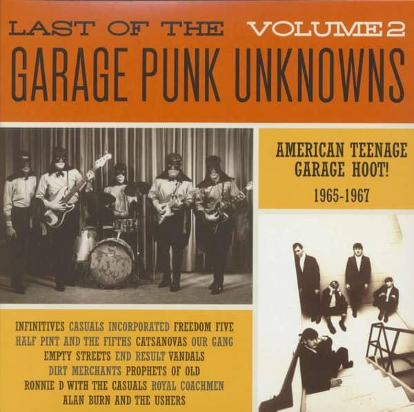 Last Of The Garage Punk Unknowns, Vol.2 (LP)