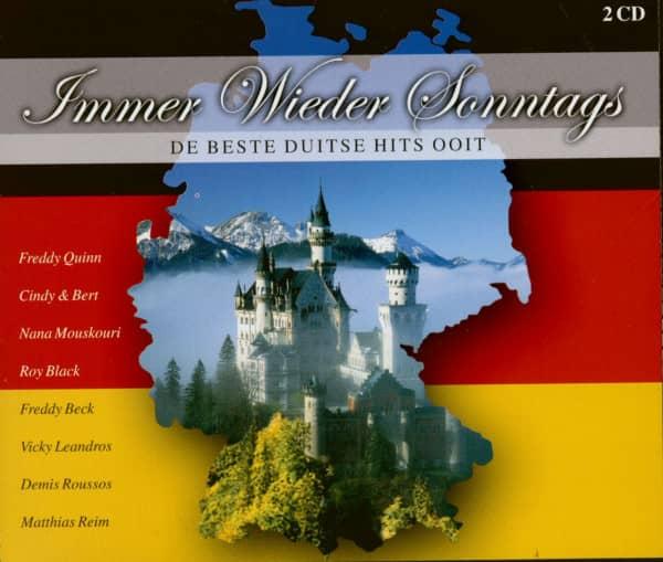 Immer wieder Sonntags - De Beste Duitse Hits Ooit (2-CD)