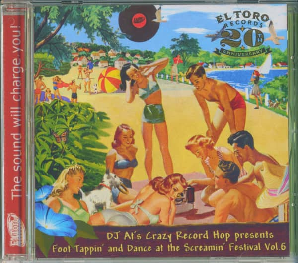 Foot Tappin' And Dance At The Screamin' Festival Vol.6 (CD)