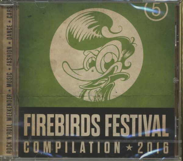 Firebirds Festival Compilation - 2016 (CD)