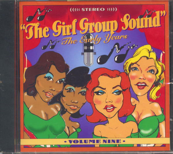 The Girl Group Sound Vol.9 - The Early Years (CD)