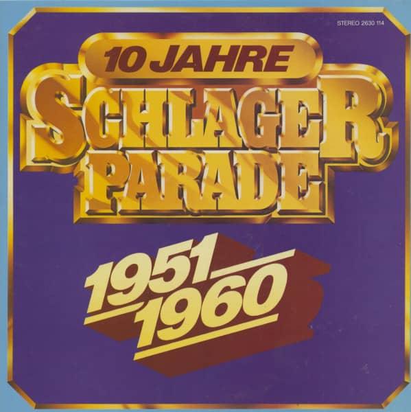 10 Jahre Schlagerparade - 1951-1960 (10-LP)
