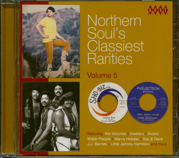 Northern Soul's Classiest Rarities Vol.5 (CD)