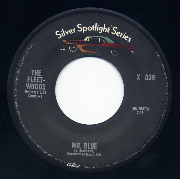 Mr.Blue - Tragedy 7inch, 45rpm