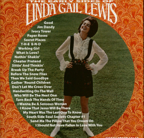 The Early Sides Of Linda Gail Lewis (CD)