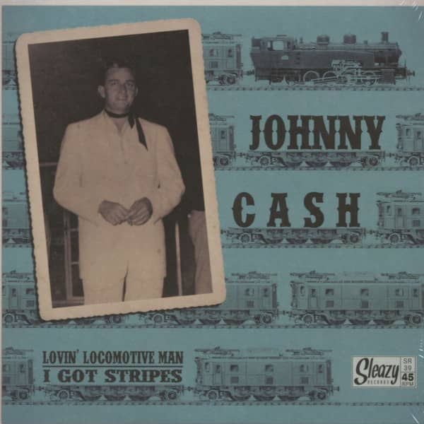 Lovin' Locomotive Man - I Got Stripes (7inch, 45rpm, PS)