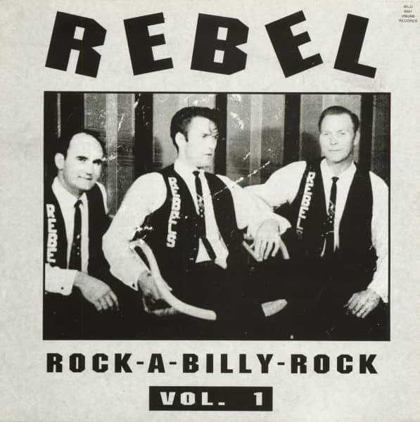 Rebel - Rockabilly Rock Vol.1 (LP)