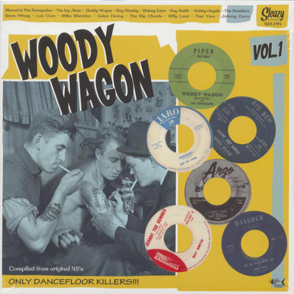 Woody Wagon, Vol.1 (LP)
