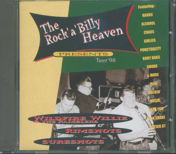 Rockabilly Heaven Tour '98 (CD)