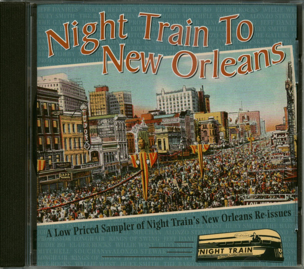 Night Train To New Orleans (CD)