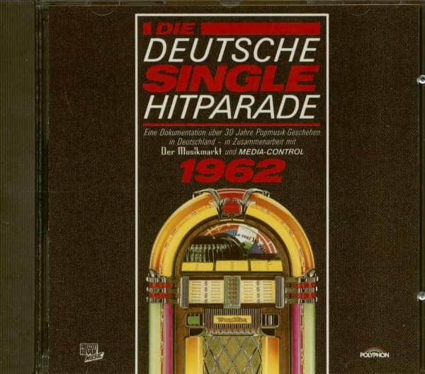 Die Deutsche Single Hitparade 1962 (CD)