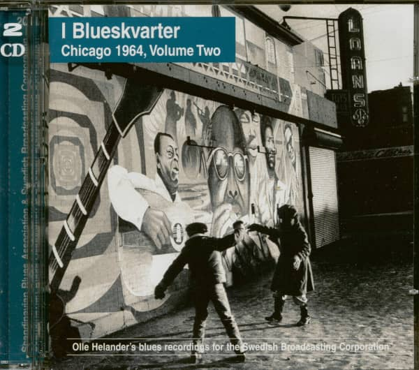 I Blueskvarter - Chicago 1964 Vol.2 (2-CD)