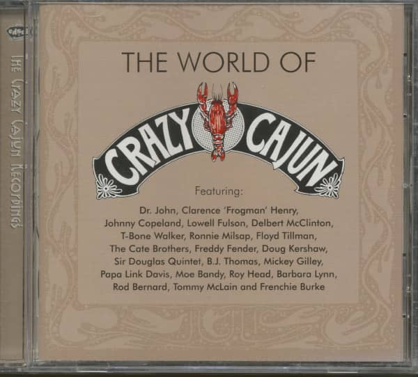 The World Of Crazy Cajun Recordings (CD)