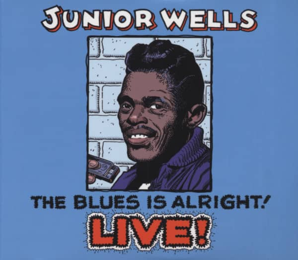 Blues Is Alright! Live! (2-CD)