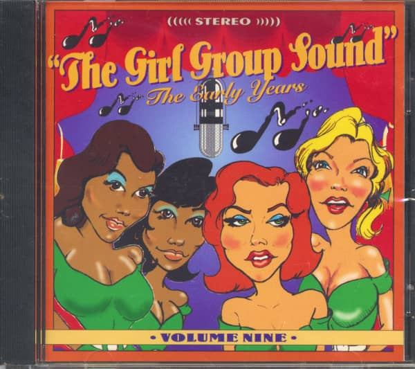 The Girl Group Sound Vol.10 - The Early Years (CD)