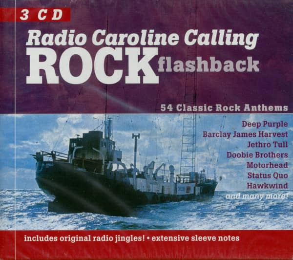 Radio Caroline Calling - Rock Flashback (3-CD)