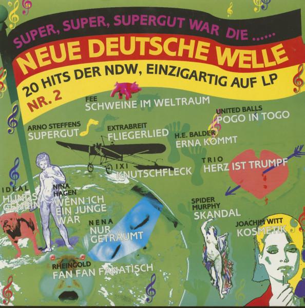 Super, Super, Super Gut War Die...Neue Deutsche Welle - Nr.2 (LP)