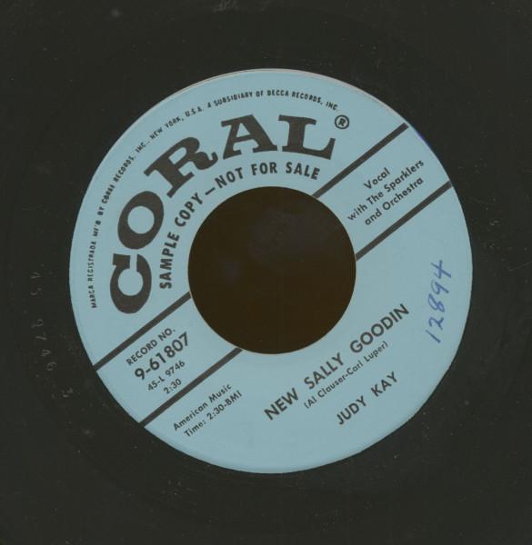 New Sally Goodin' - Lo Siento Mucho (7inch, 45rpm)
