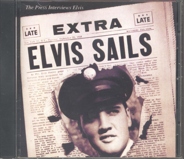 Elvis Sails - The Press Interviews (CD, US Version)