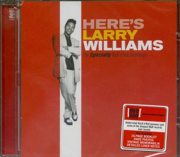 Here's Larry Williams...plus (CD)