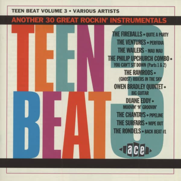 Teen Beat Vol.3 (CD)