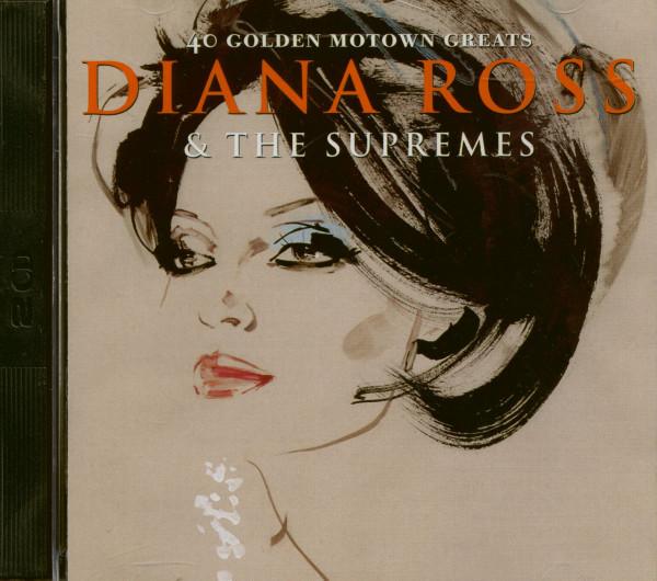 40 Golden Motown Greats (2-CD)