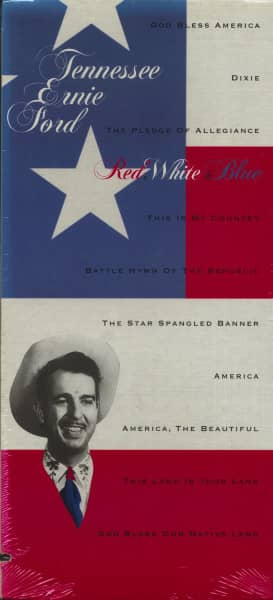 Red, White & Blue (CD, US Longbox, Cut-Out)