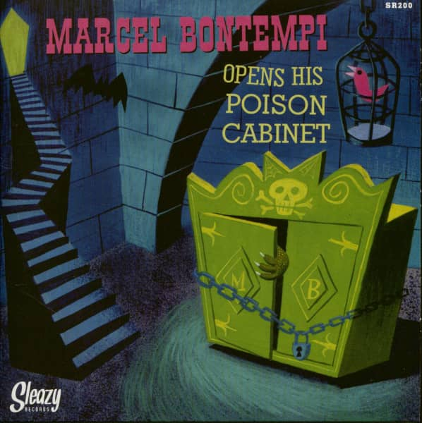 Opens His Poison Cabinet (7inch, 45rpm, Ltd.)