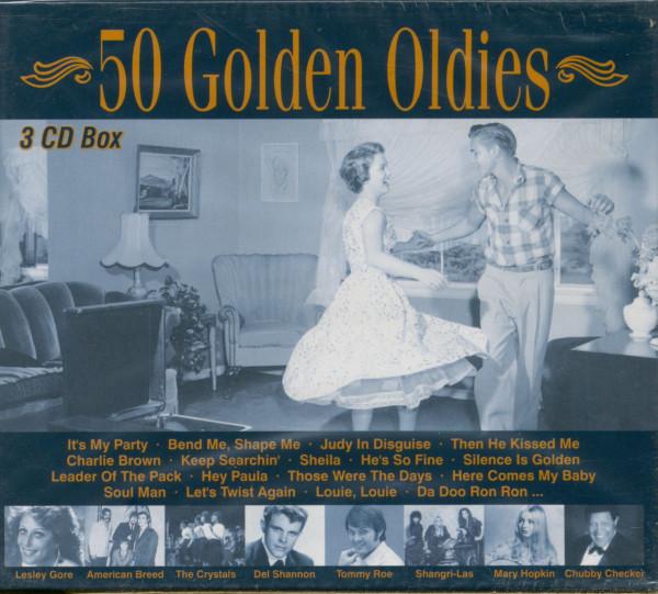 50 Golden Oldies (3-CD)