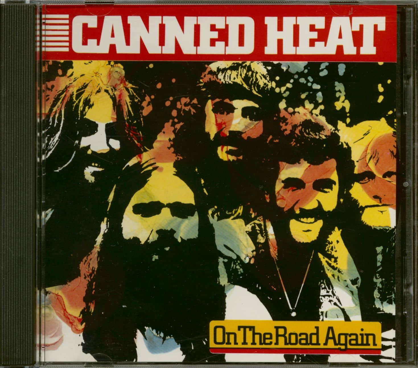 Canned Heat CD On The Road Again CD   Bear Family Records