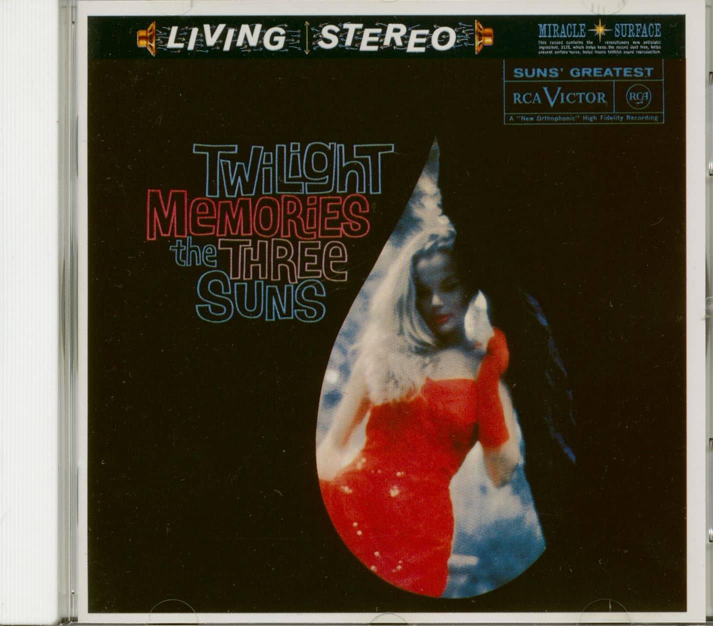 Three Suns Cd Twilight Memories Cd Bear Family Records
