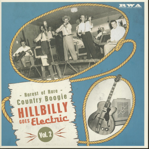 Hillbilly Goes Electric, Vol.2 (LP, 10inch)