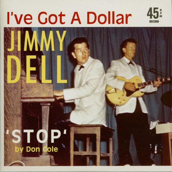 Jimmy Dell & Don Cole - I've Got A Dollar - Stop (7inch, 45rpm, PS, BC, Ltd.)