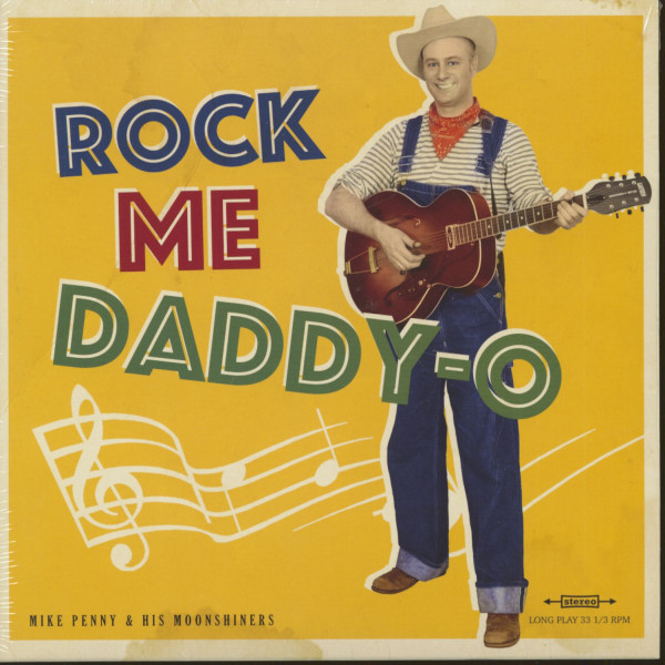 Rock Me Daddy-O (LP, 10inch)